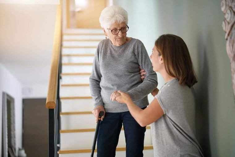 Elderly-woman-going-downstairs