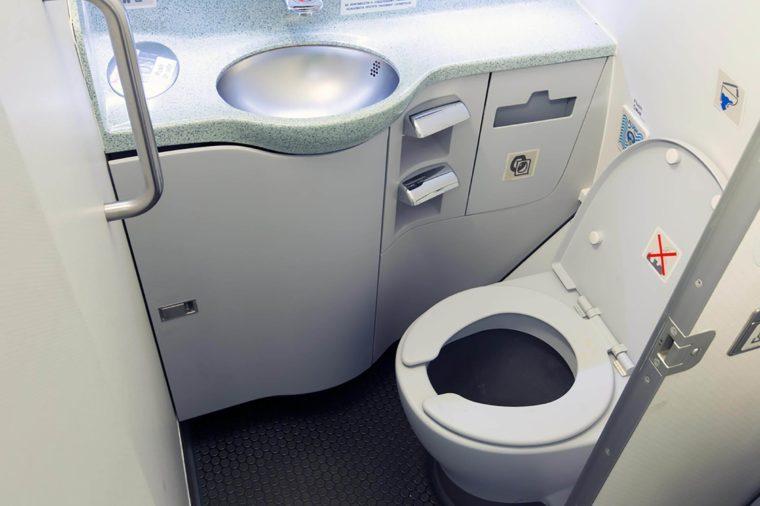 Airplane-bathroom
