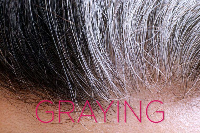 Graying-hair