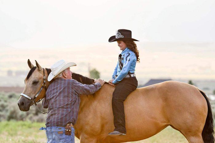 Girl-on-horse