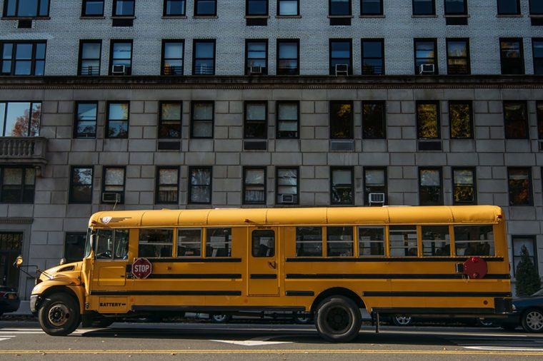 things school bus drivers cant do