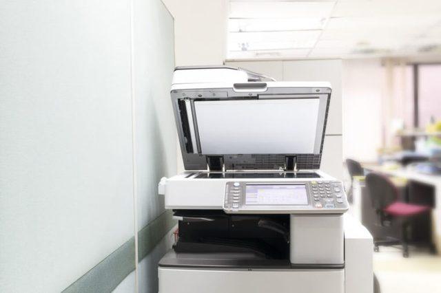 Photocopy machine.