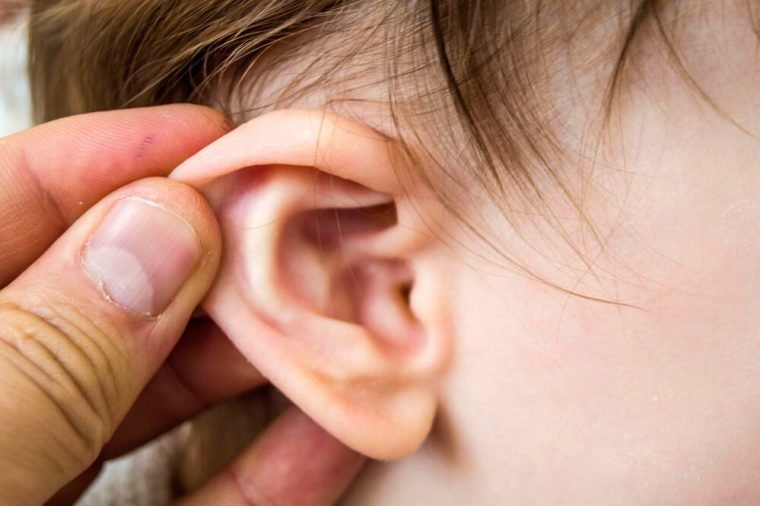 ear infections, ear pain and inflammation in infants,