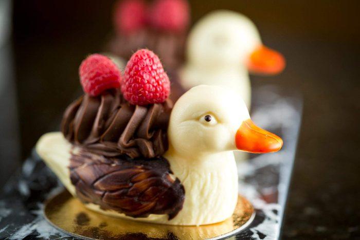 chocolate duck