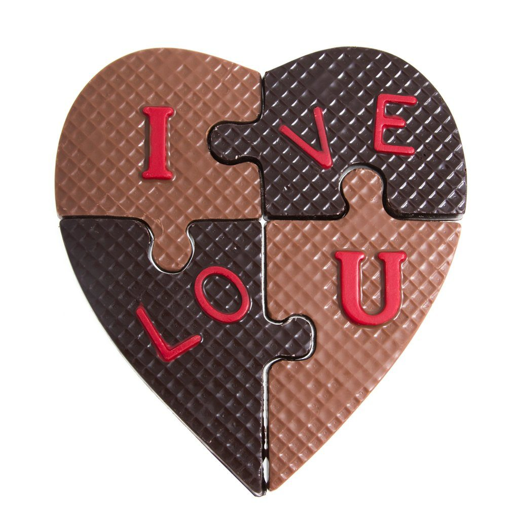 chocolate i love you puzzle