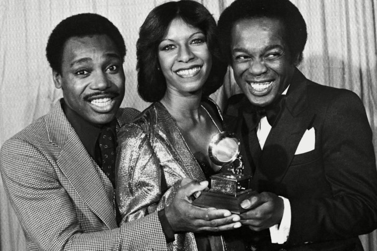 George Benson, Natalie Cole, and Lou Rawls are shown at the Grammy Awards in Los Angeles 23 Feb 1978