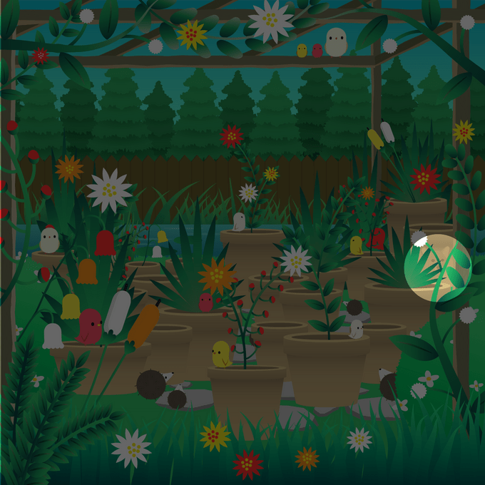 find the corgi in the garden scene hidden objects puzzle answer