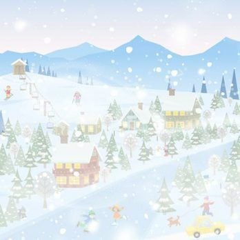 Can You Spot the Wizard in This Wintry Scene?