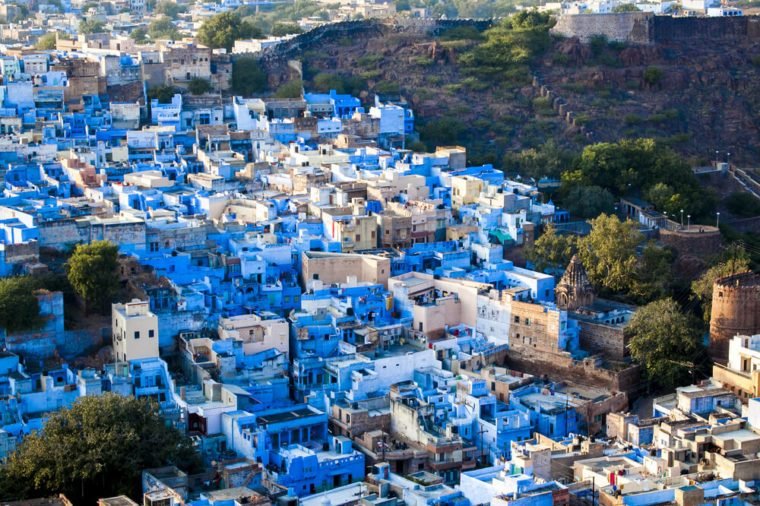 jodhpur blue city photos, Rajasthan, India