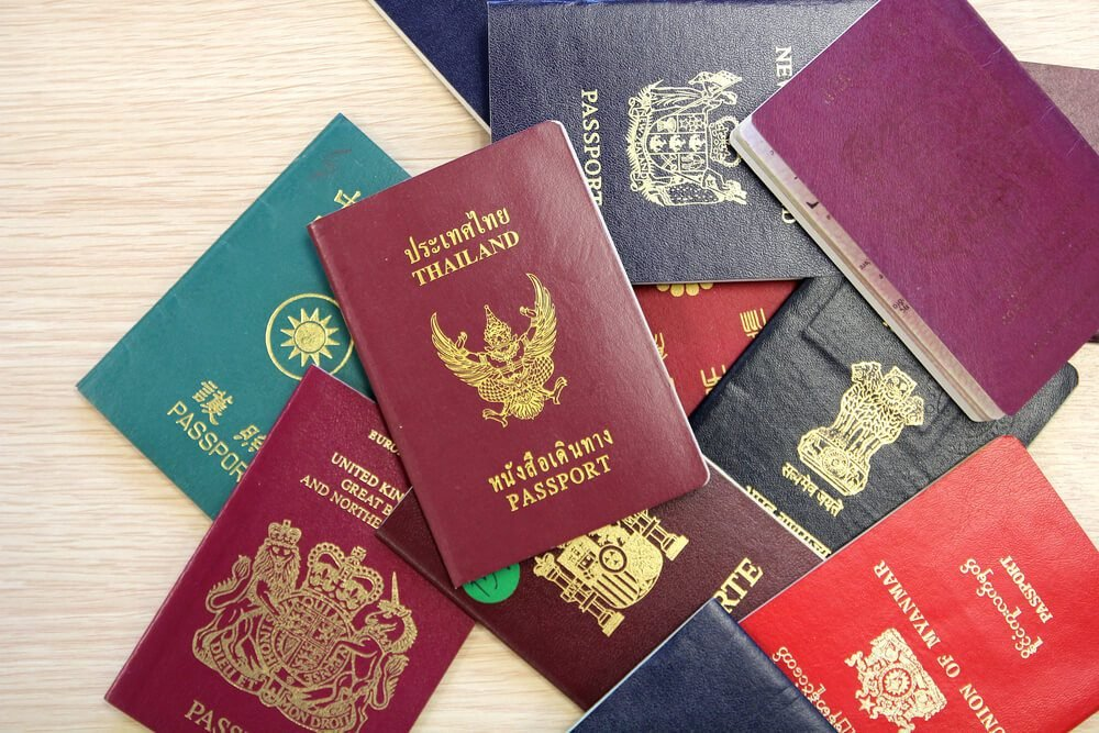The Real Reason Why Passports Only Come in Four Colors
