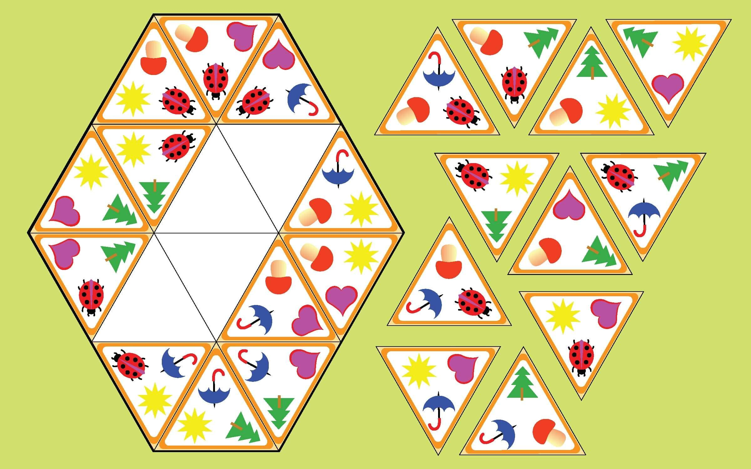 Can You Solve This Triangle Picture Logic Puzzle? | Reader's Digest