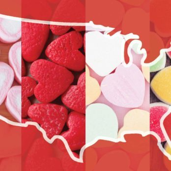 This Is the Most Popular Valentine's Day Candy in America