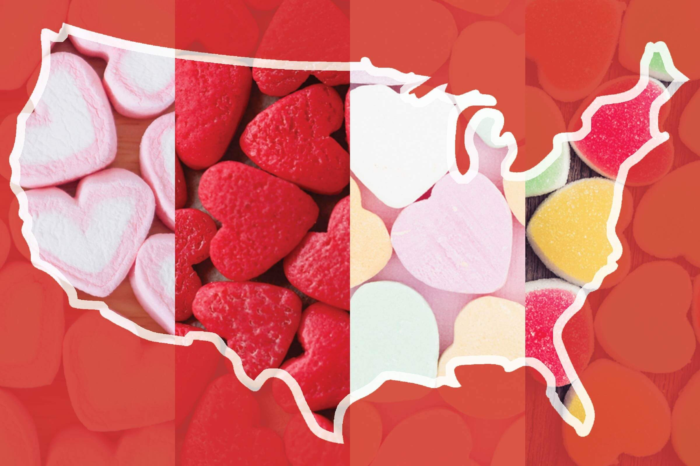 popular valentine candy