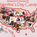 This Map Shows the Most Popular Valentine's Day Candy in Your State