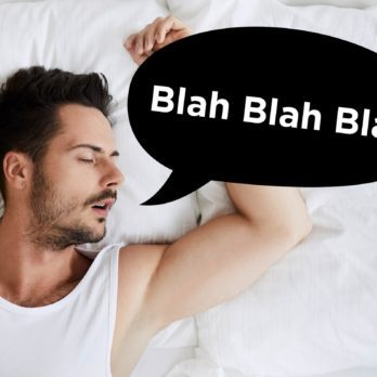 This Is the Real Reason You Talk in Your Sleep