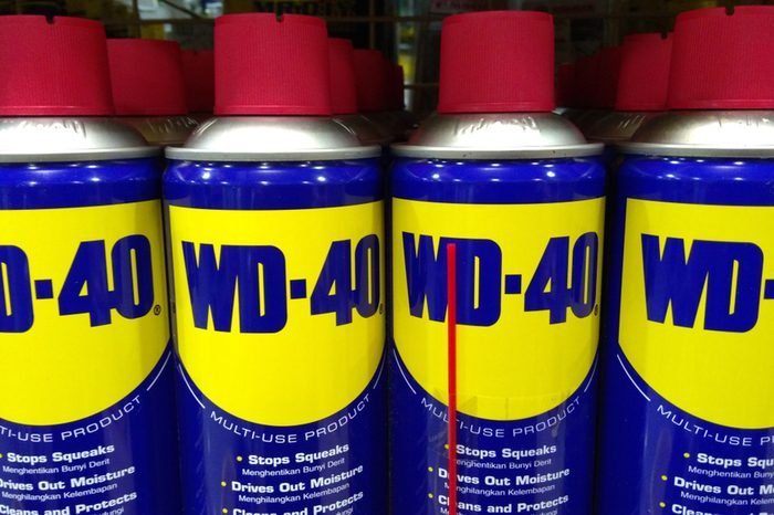 KLANG, MALAYSIA - July 20, 2018: WD-40 is the trademark name of the penetrating oil and water-displacing spray is now available in Malaysia hardware stores