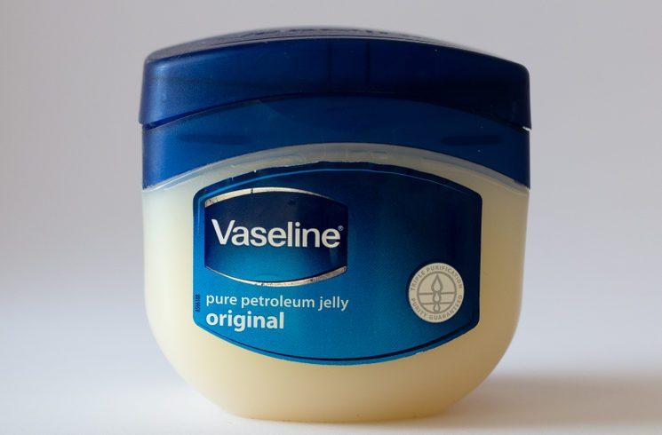 March 10th, 2018, Cork, Ireland - Vaseline cream container.