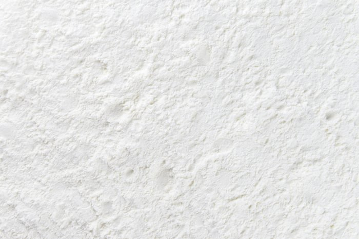 Portion of Milk Powder (detailed close-up shot)