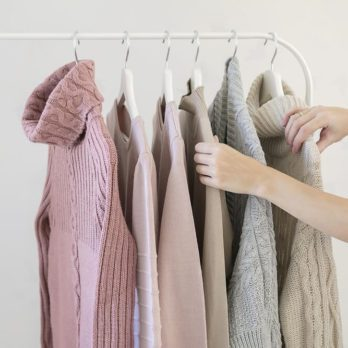 This Is the ONLY Way You Should Hang Your Sweaters