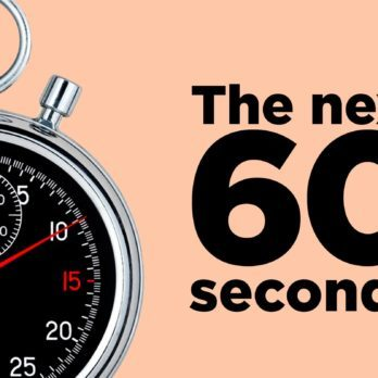 15 Fascinating Things That Will Happen in the Next 60 Seconds