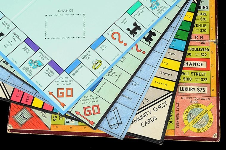 monopoly board versions