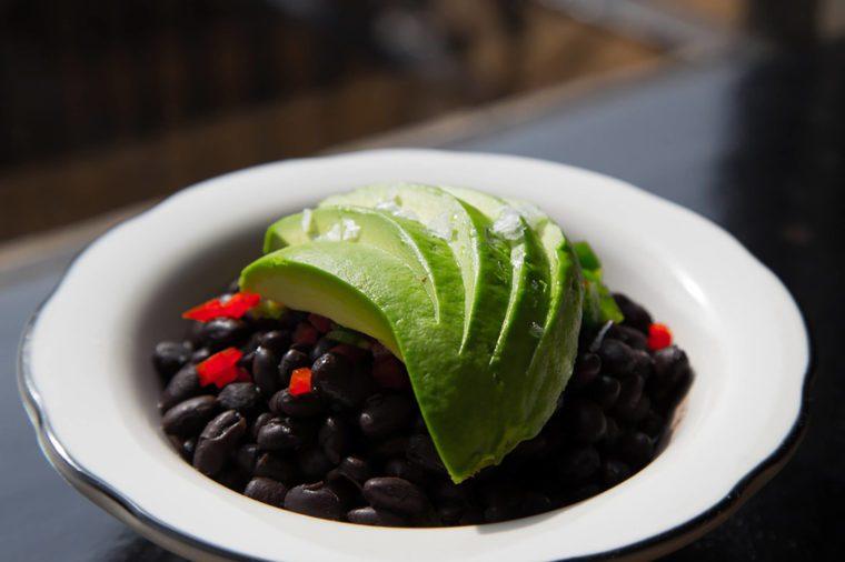 Avocado-beans