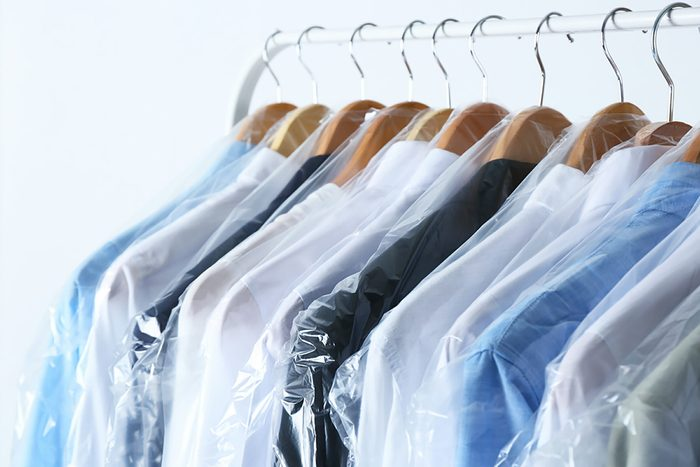 Best way to sort laundry Dry-clean