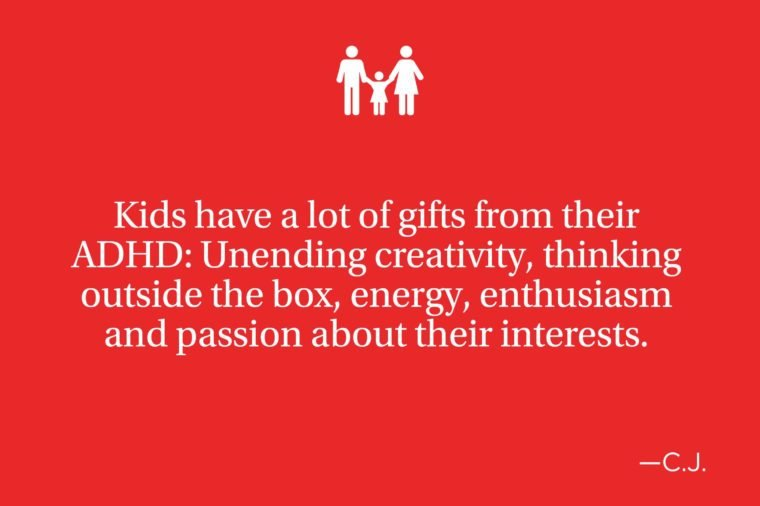 An Upside Of Having Adhd Outside Box >> Quotes From Parents Of Kids With Adhd Reader S Digest