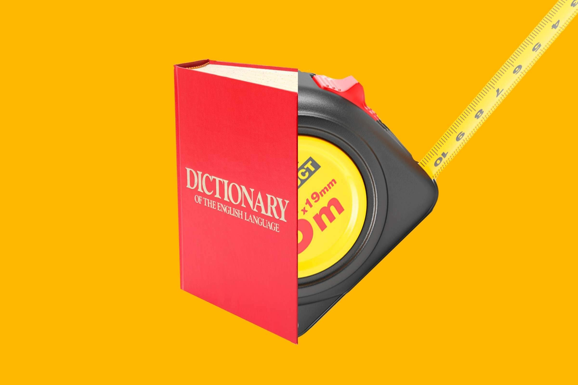dictionary-measuring-tape