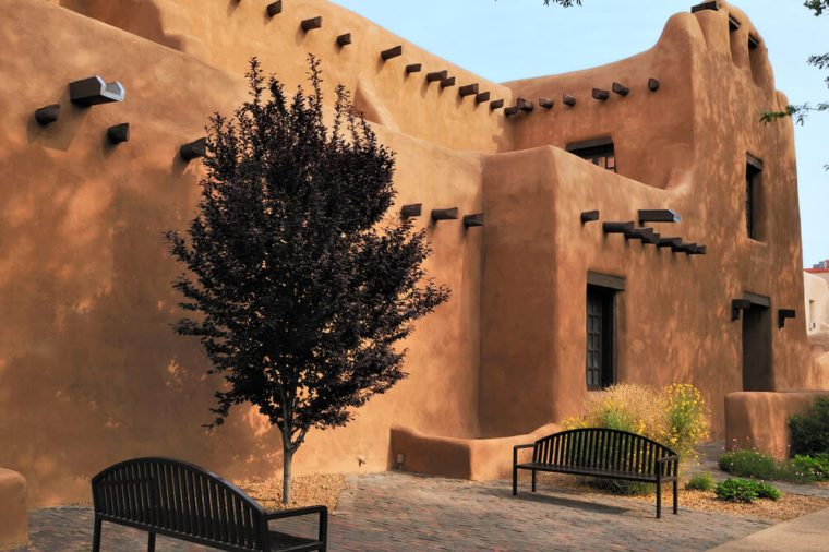 historical architecture of Santa Fe, New Mexico