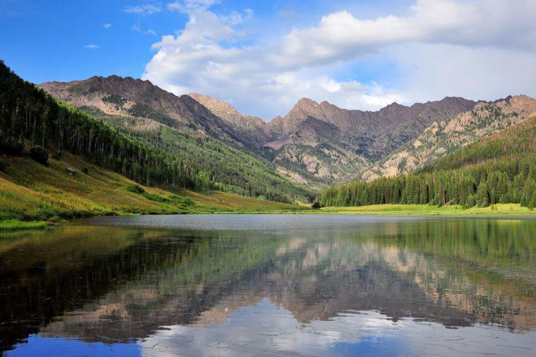 Piney lake, Vail, Colorado