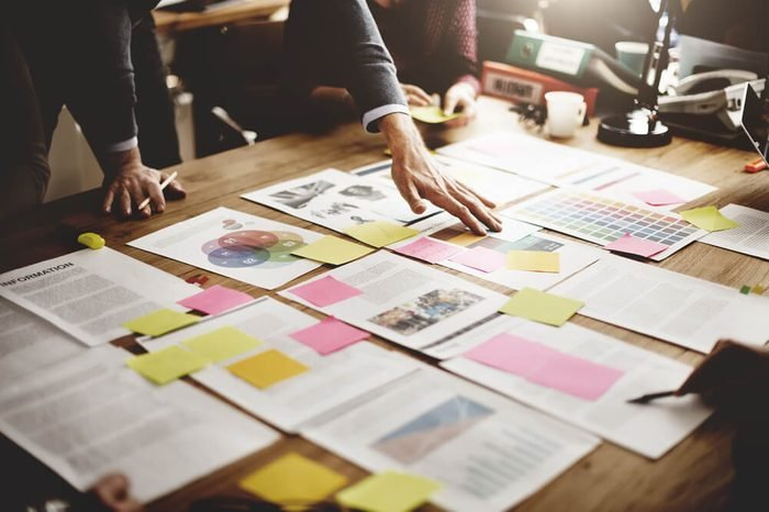 Business People Meeting Design Ideas Concept