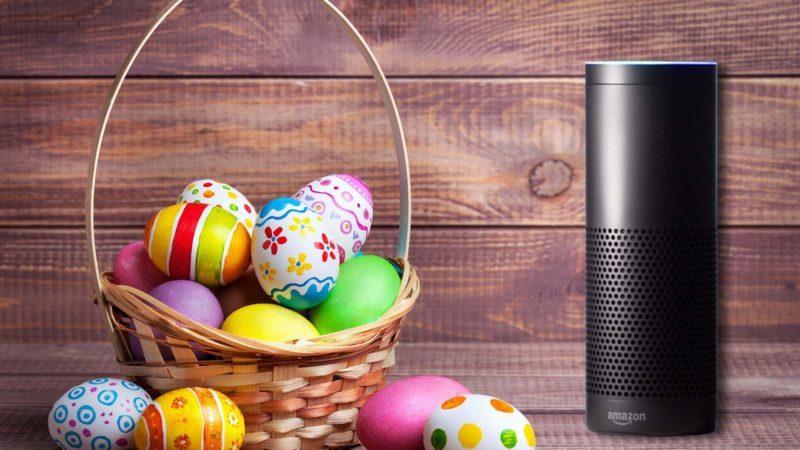 Amazon Echo easter basket