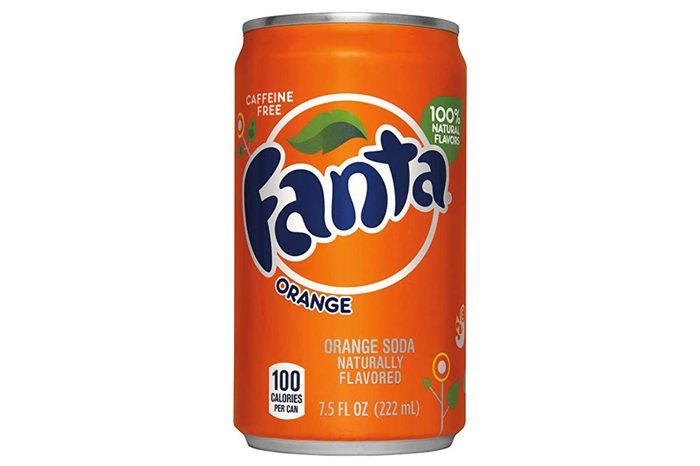 Fanta Orange Soda, 7.5 Ounce (24 Cans)