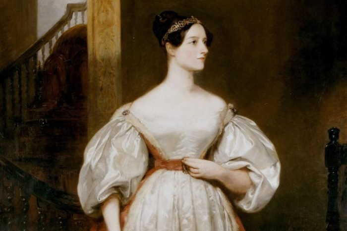 Augusta Ada, Countess Lovelace (1815-1852) English mathematician and writer. Daughter of the poet Byron. Friend of Charles Babbage. Devised programme for his Analytical Engine. Portrait by Margaret Carpenter.