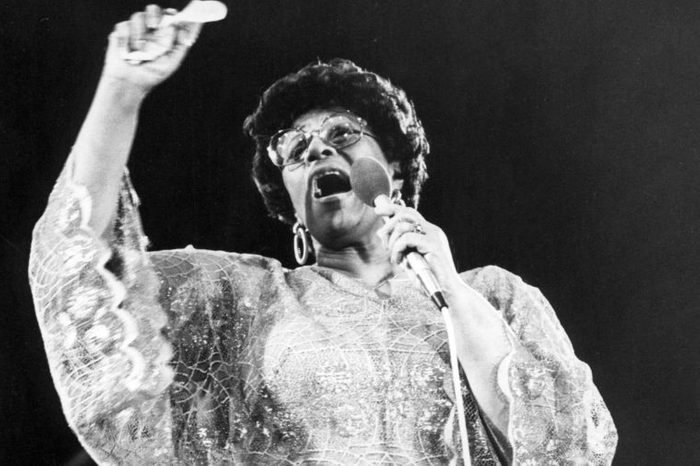 Jazz Singer Ella Fitzgerald Ella Jane Fitzgerald (april 25 1917 A June 15 1996) Also Known As The 'first Lady Of Song' 'queen Of Jazz' And 'lady Ella' Was An American Jazz And Song Vocalist. With A Vocal Range Spanning Three Octaves (d?3 To D?6) She Was Noted For Her Purity Of Tone Impeccable Diction Phrasing And Intonation And A 'horn-like' Improvisational Ability Particularly In Her Scat Singing. Fitzgerald Was A Notable Interpreter Of The Great American Songbook. Over The Course Of Her 59-year Recording Career She Was The Winner Of 13 Grammy Awards And Was Awarded The National Medal Of Arts By Ronald Reagan And The Presidential Medal Of Freedom By George H. W. Bush. Date Unknown.