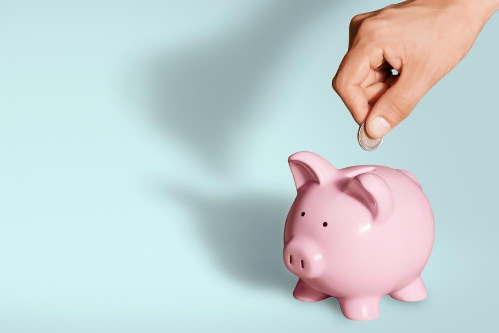 Piggy Bank, Pension, Savings.