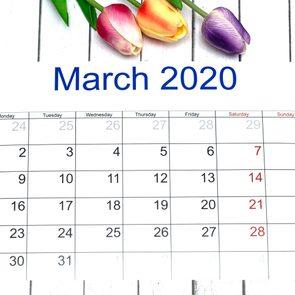 march 2020 calendar best month