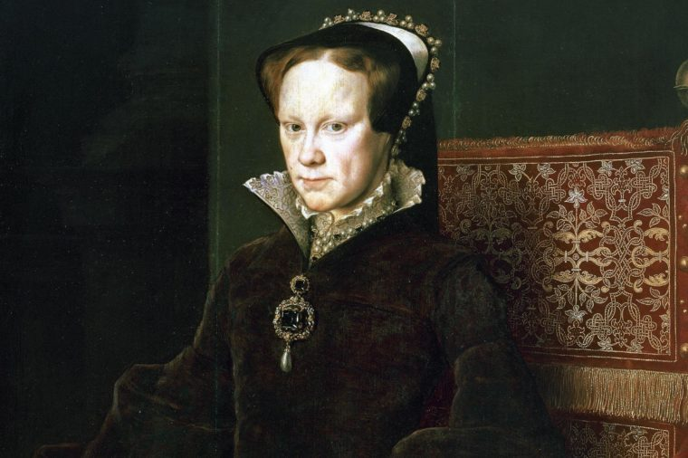 Mary I of England (1516-1558).