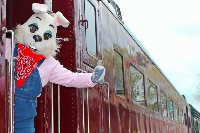 The Easter Bunny Express