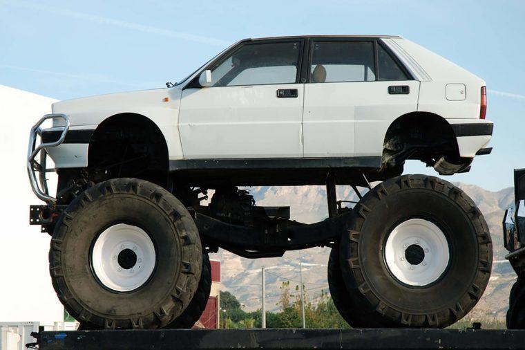 Big Foot Car
