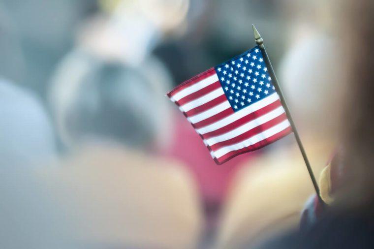 mini american flag