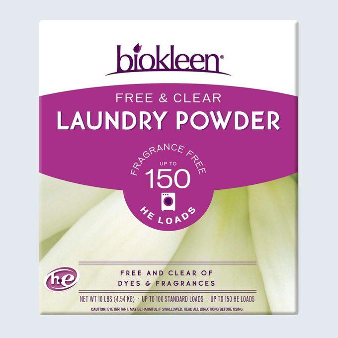 Best overall price: BioKleen Laundry Detergent