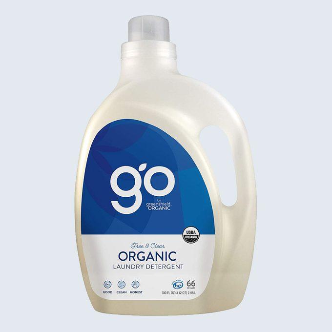 Best liquid detergent: GO by Greenshield Organic Laundry Detergent