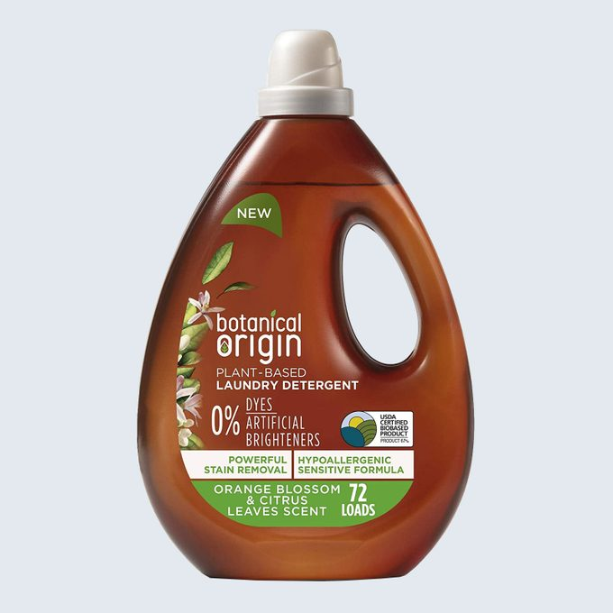 Best detergent for stubborn stains: Botanical Origin Laundry Detergent
