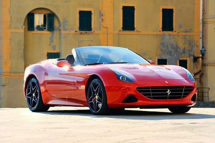 Camogli, Liguria, Italy - April 13, 2016 Ferrari California T Handling Speciale