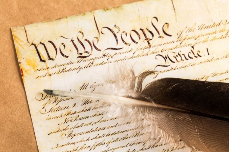 constitution_weird time facts