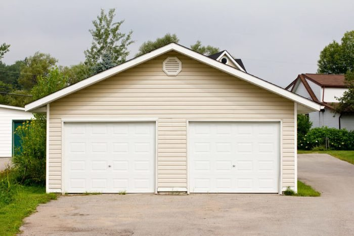 Standalone double garage