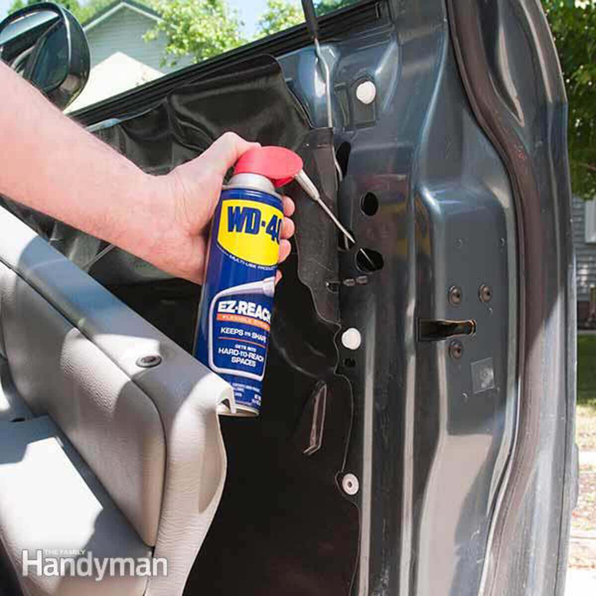 DIY-acro-8-WD40_2_car_door-1200x1200