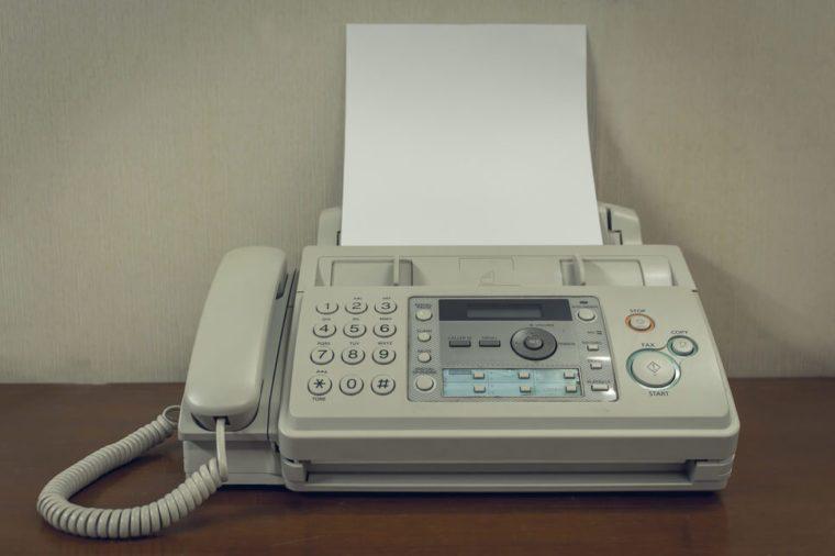 fax machine_weird time facts